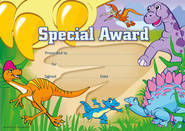Special Award Dinosaurs (35) Paper Certificates