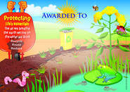Caring for our Environment (200) Paper Certificates