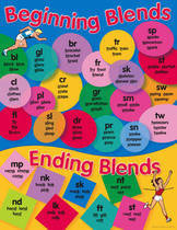 Beginning Blends Educational Chart