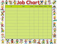 Multi Cultural Friends Job Chart