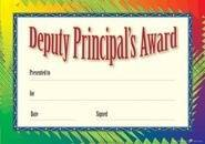 Deputy Principal Formal (200) Paper Certificates