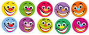 Smile Dots - Dynamic Dot Kids Stickers
