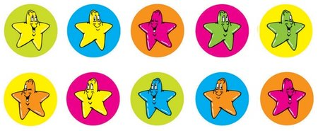 Star Dots - Dynamic Dot Kids Stickers   OLd Look Discontinued