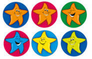 Star Dots - Dynamic Dot Kids Stickers