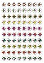 Fishy Glitter Dynamic Glitz Kids Stickers