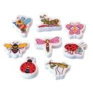Garden Bugs (20) Erasers