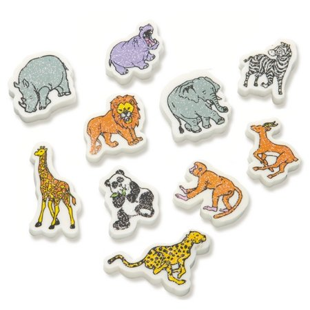 Wild Animals (100) Erasers
