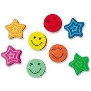 Stars and Smiles (20) Erasers