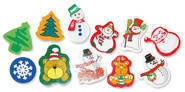Christmas Fun  (100)  Erasers.