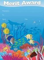 Ocean Life (35) Paper Certificates Old Design