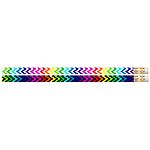 Chevron Colours (100) Pencils NEW