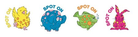 Spot On Merit Stickers (96) Old Design