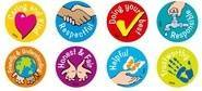 Character Values Merit Stickers (96)