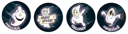 Ghosts Merit Stickers (96) Discontinued