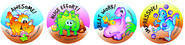 Dinosaurs Merit Stickers (96)