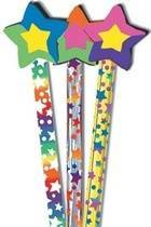 Stars Pencil Toppers (6)