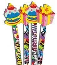Birthday Surprise Pencil Toppers (6)