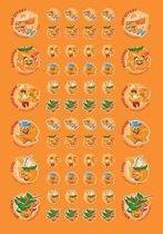 Scented Mandarin Scentsations Stickers (180)