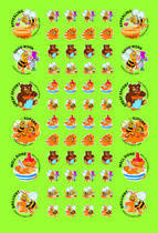 Scented Honey ScentSations Stickers (180)