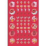 Scented Strawberry Scentsations Stickers NEW LOOK 2017 (180)