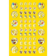 Scented Banana Scentsations Stickers (180)