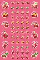 Scented Cherry Scentsations Stickers (180)