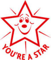 You're a Star Merit Stamp