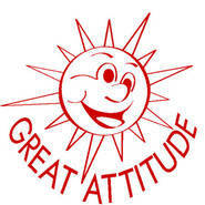 Great Attitiude Sun Merit Stamp