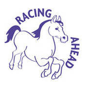 Racing Ahead Horse Merit Stamp