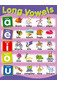 Long Vowels Educational Chart