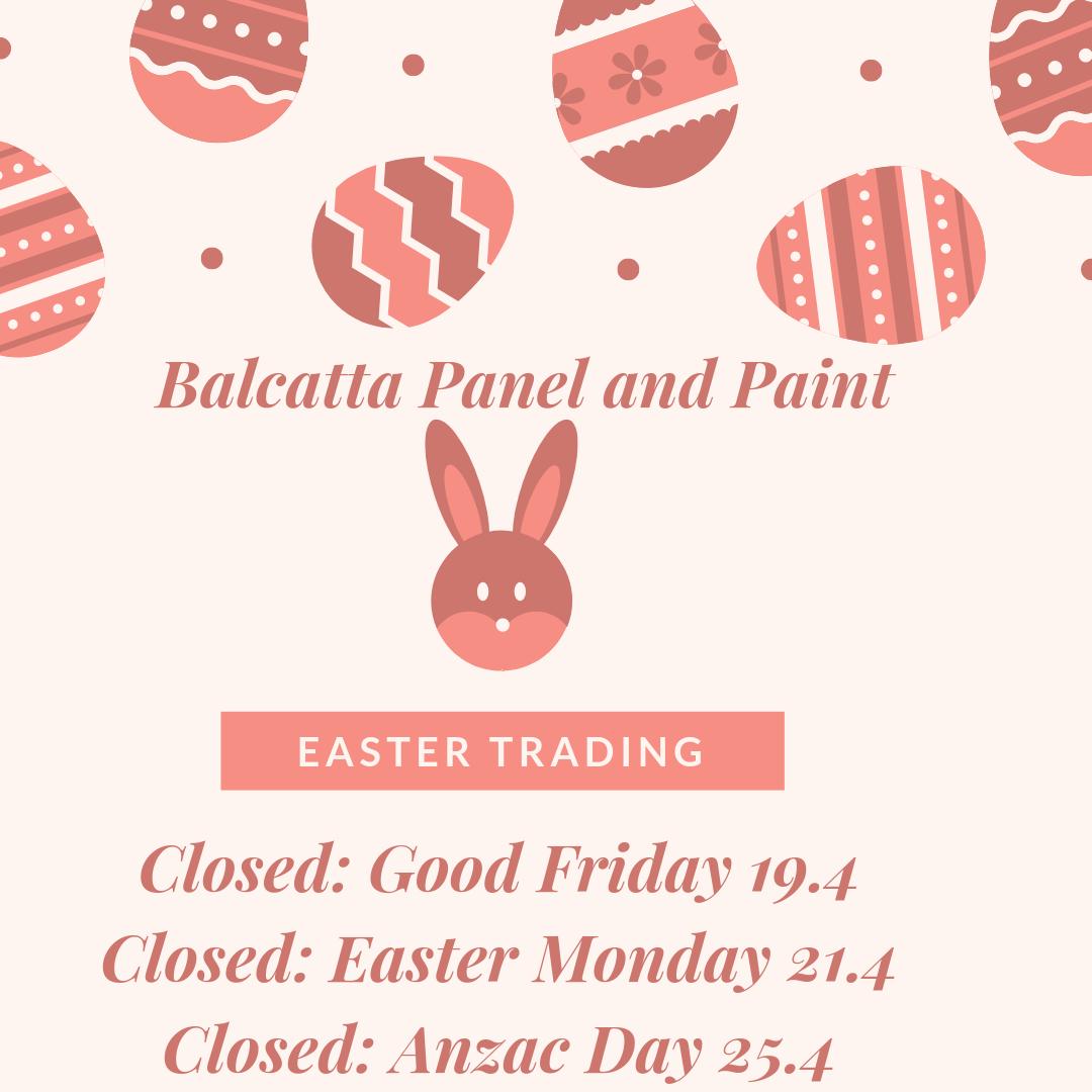 Easter Trading 2019