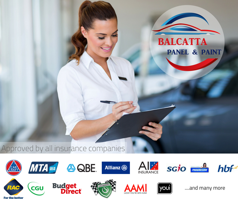 Here in Balcatta we can look after your insurance claim with RAC insurance as preferred repairer