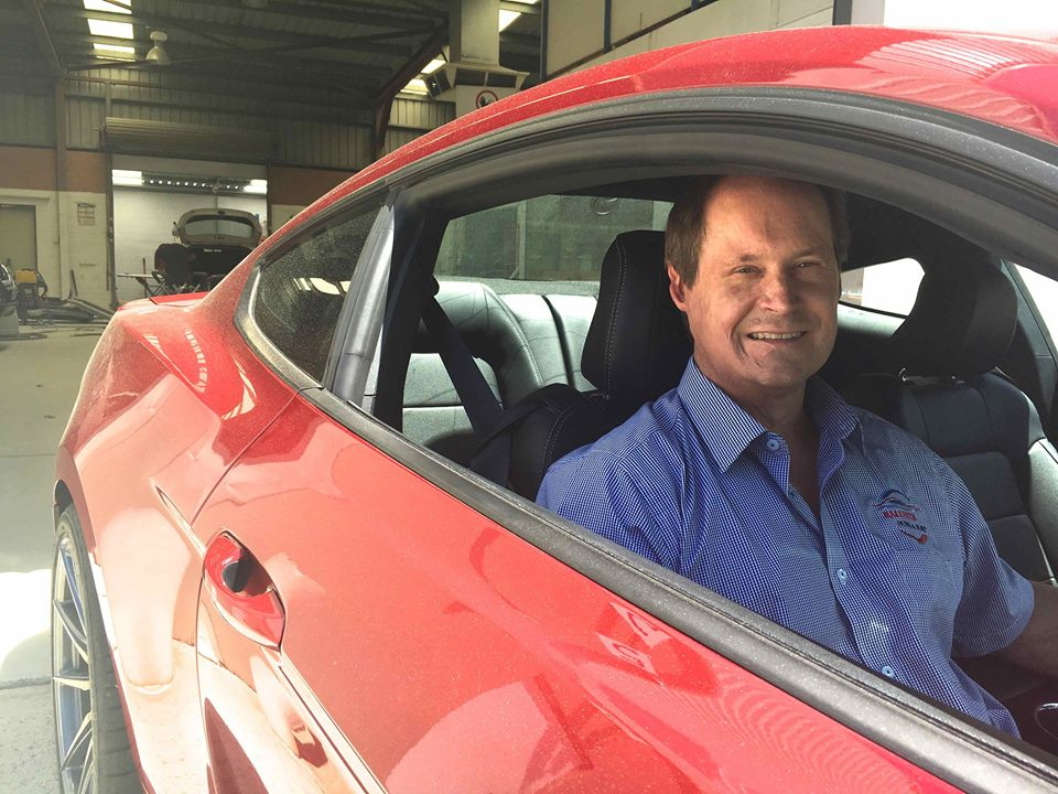 Andrew Jaques, owner of Balcatta Panel and Paint