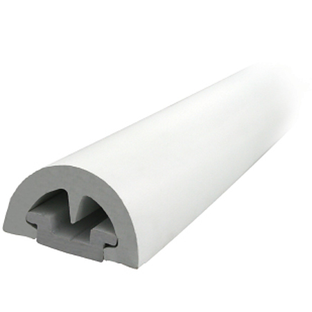 GUNWALE BUMP PVC RUB RAIL 53MM PROFILE