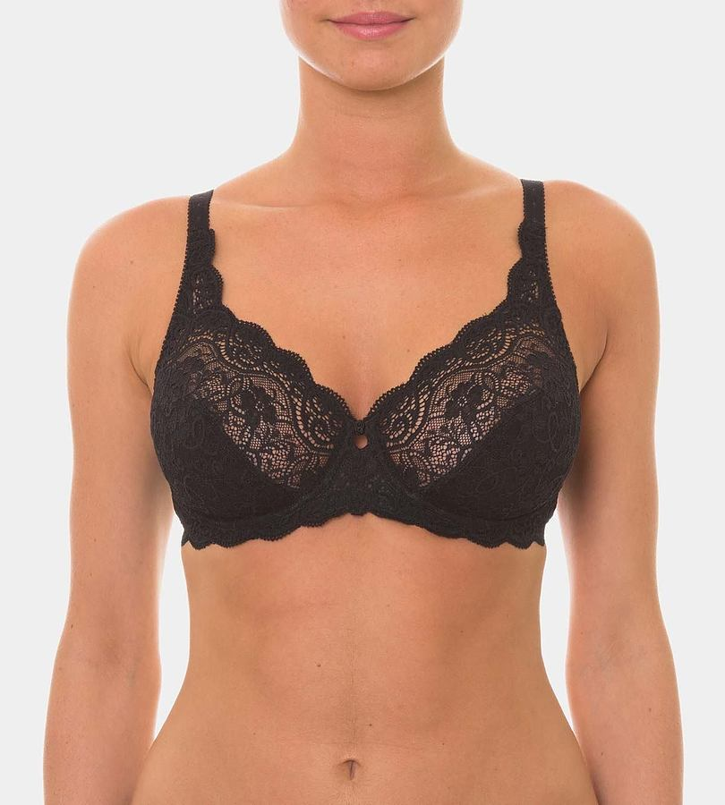 Amourette Wired Lacey Bra - Image 1