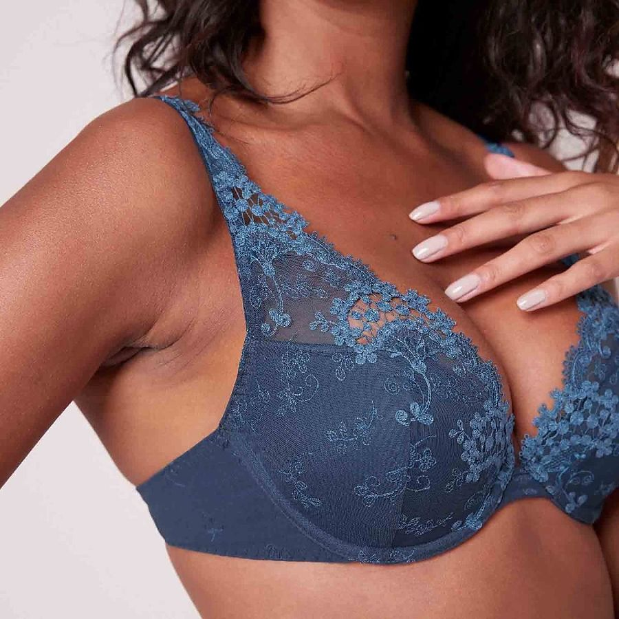 Wish Push-up Triangle Bra in Petrol Blue *Limited Stock, Please Call For Available Sizes!* - Image 1