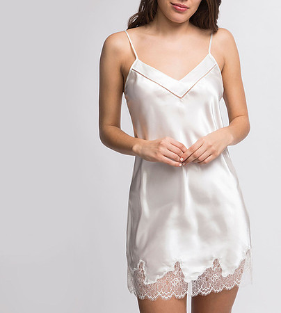 Nocturne Silk Chemise *Limited Sizes, Please Call For Availability* - Image 1