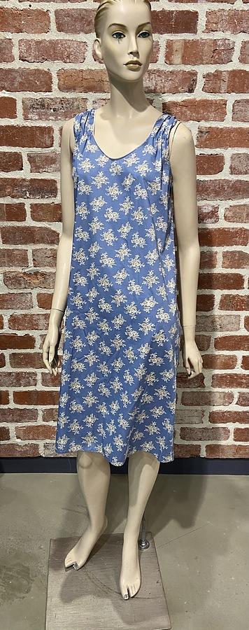 Natural Cotton Sleep Dress - Image 1