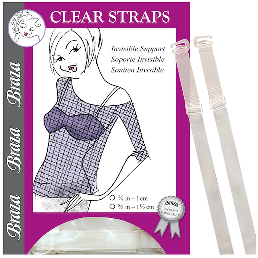 Clear Plastic Straps (narrow) - Image 1