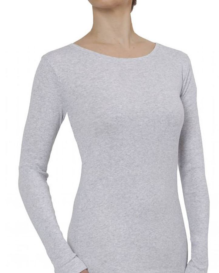 100% Organic Cotton Long Sleeve Tee - Image 1