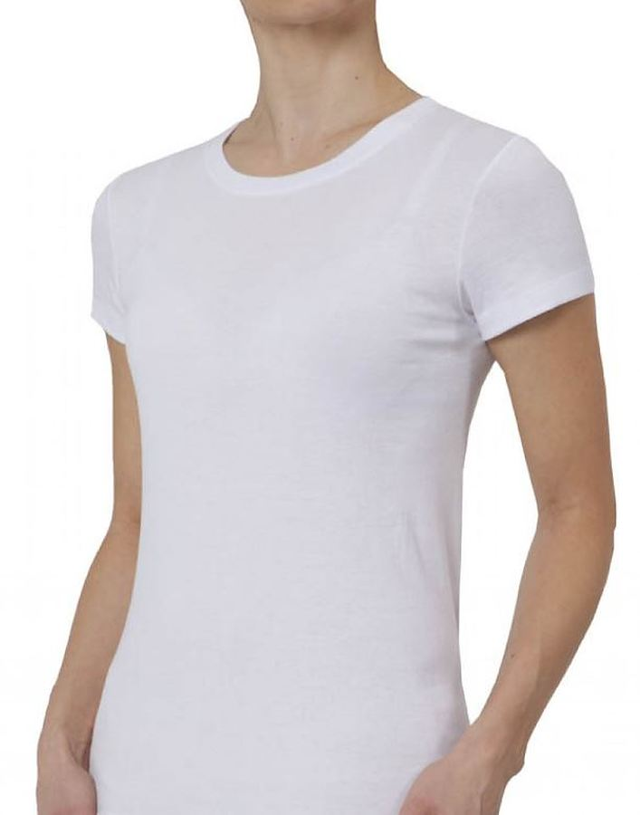 100% Organic Cotton Cap Sleeve T-Shirt - Image 1