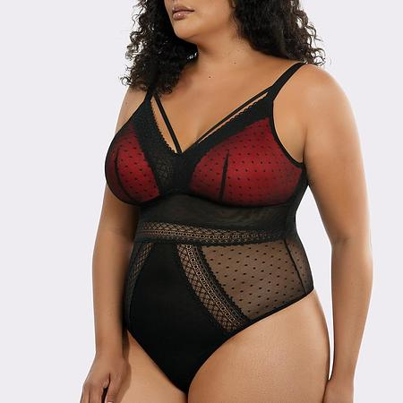 Mia Dot Wirefree Bodysuit - Image 2