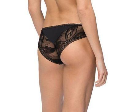 Black Petal Lace Bikini - Image 2