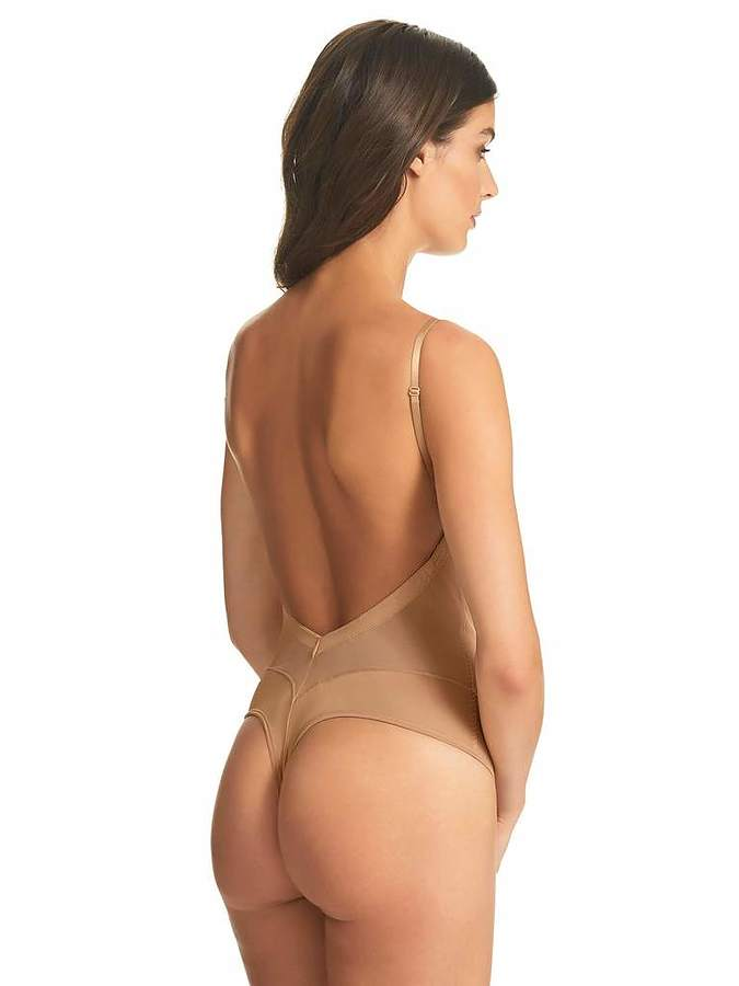 Refined Backless Bodysuit - Image 1
