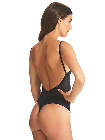 Refined Backless Bodysuit - Image 4