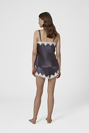 Silk Pintuck Cami and Knicker Set - Image 2
