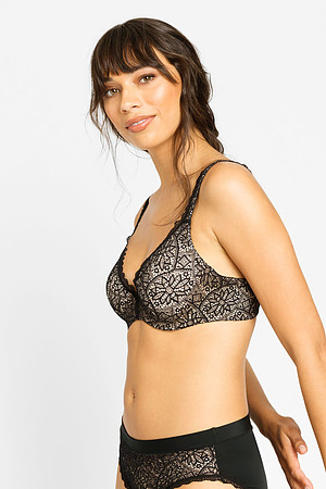 Barely There Lace Contour Bra - Image 2