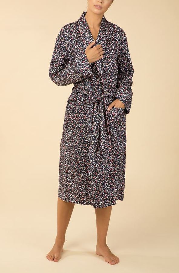 Catherine 100% Cotton Robe - Image 1