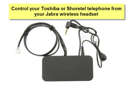 Jabra Link 14201-20 EHS Cable for Toshiba