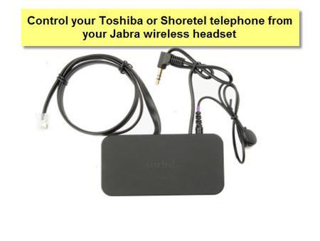 Toshiba 14201-20 EHS Jabra Link Cable